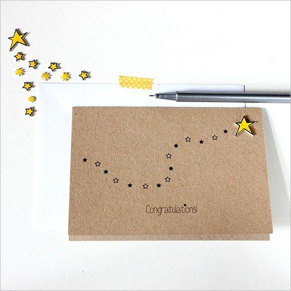 congratulations card templates word