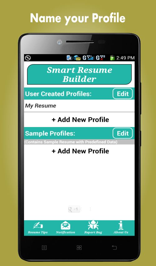 Resume Builder Pro, 5 Minutes CV Maker & Templates - Android Apps ...