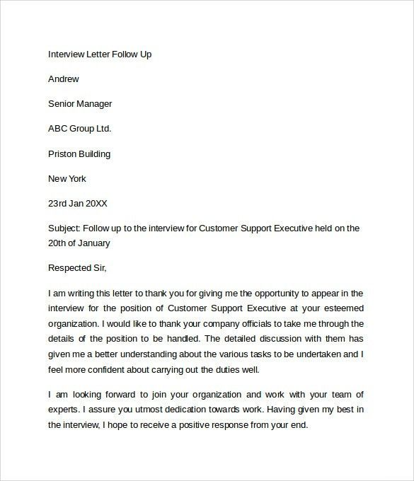 Sample Letter of Explanation - 7+ Documents In Word