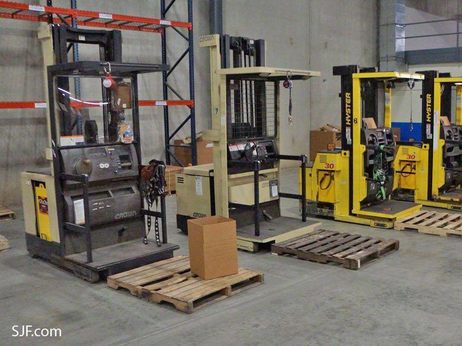 Used Order Picker Forklifts   SJF.com