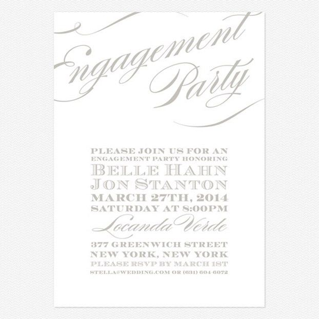 Engagement Party Invitation Templates - reduxsquad.Com