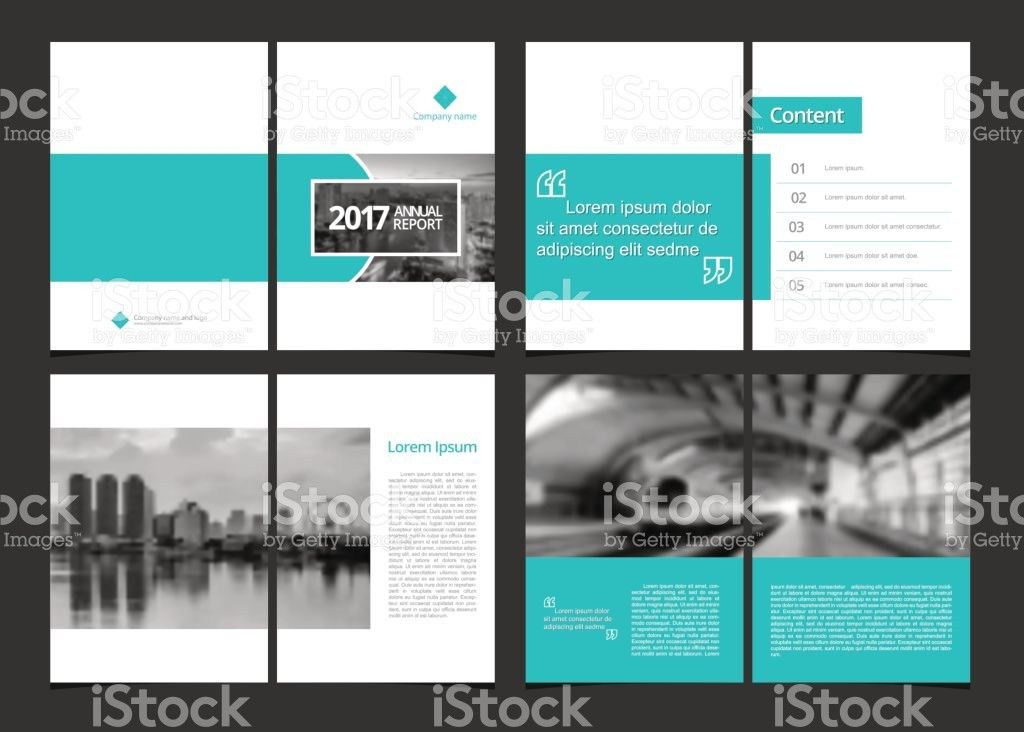 Business Template Cover Design For Annual Report Catalog Magazine ...