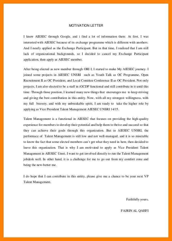 5+ motivation letter contoh | pattern resume