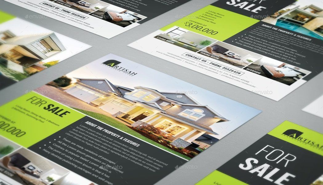 Make an Impression with these Beautiful Real Estate Flyer Templates