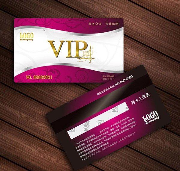 Fashion Design Membership-card Card Vector-free Vector Free Download