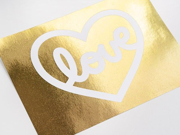 DIY Gold Foil Printing: FREE Tutorial + Template on Craftsy!