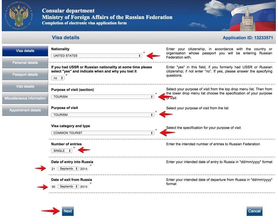 Russian visa application form for malaysian dominterier.com