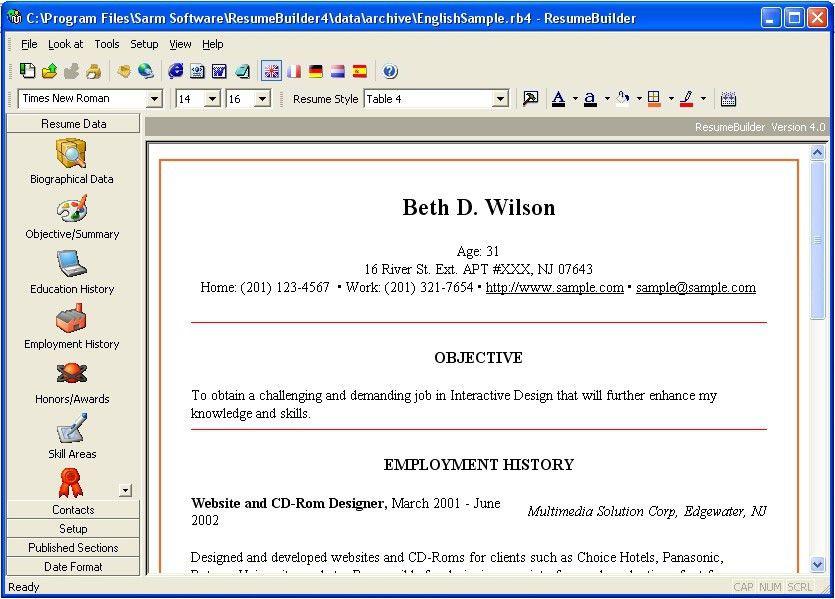 resume builder pro 5 minutes cv maker templates screenshot. resume ...