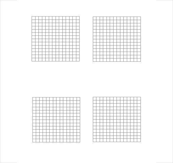 Grid Paper Template – 14+ Free Word, PDF, JPG Documents Download ...