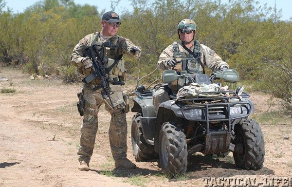 Off Road, On Target: ATVs Out in the Field