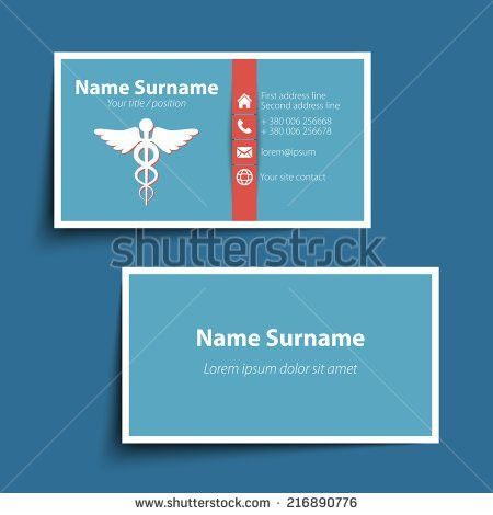 Doctor Business Card Stock Images, Royalty-Free Images & Vectors ...