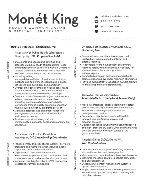 Digital Strategist Resume marketing resume examples digital