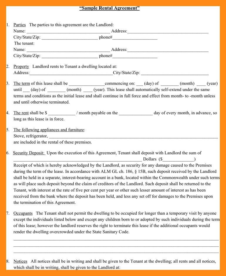 6+ Leasing Agreement Sample | Actor Resumed