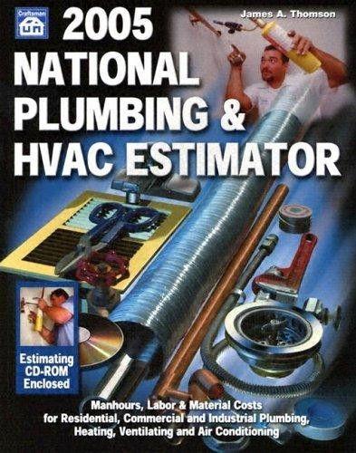 9781572181458: National Plumbing & HVAC Estimator with CDROM ...