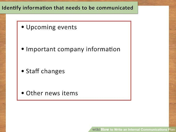 How to Write an Internal Communications Plan (with Sample Plans)