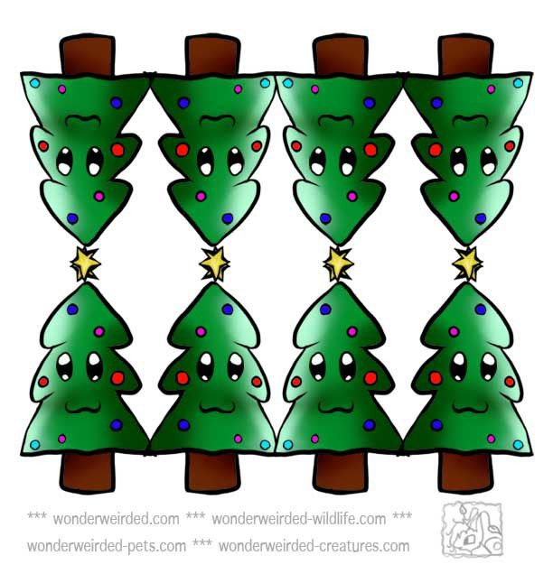 Free Printable Christmas Tree Clipart (75+)