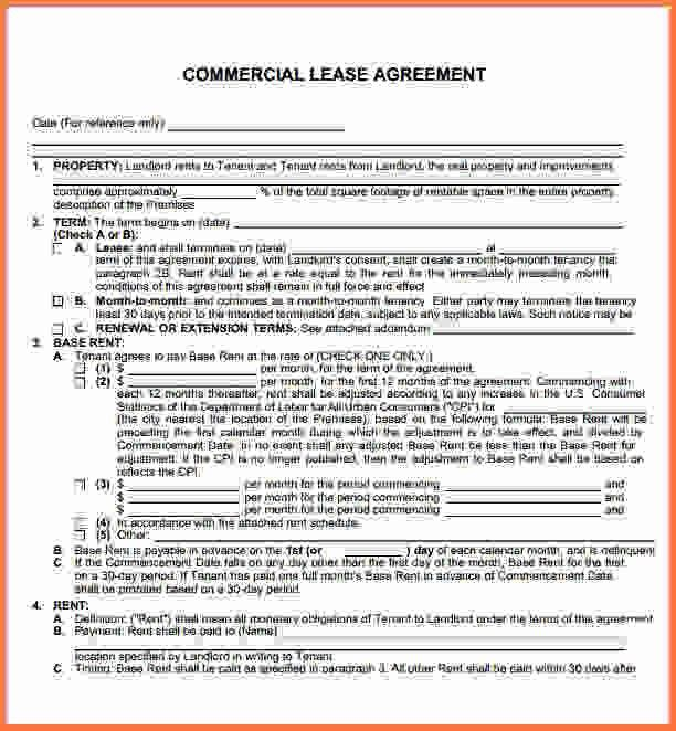 Commercial Lease Agreement Pdf.delaware Commercial Lease Agreement ...