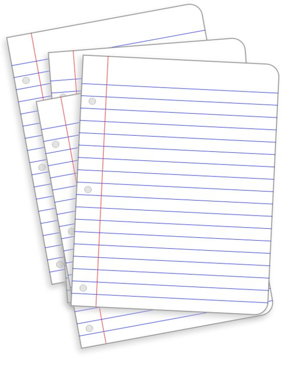 Lined paper messy papers clipart clipartfest bun - ClipartBarn