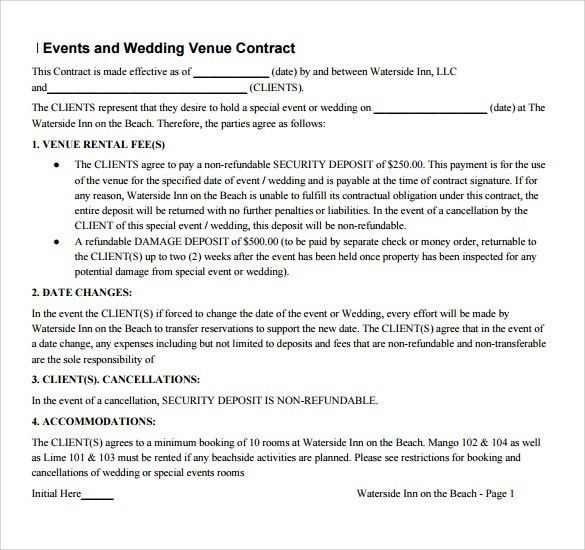 Basic Contract Template. You Can Download A Pdf Version Of The ...