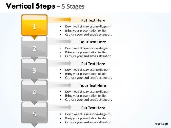 Sales Ppt Template Vertical Steps 5 Business Plan PowerPoint 2 ...