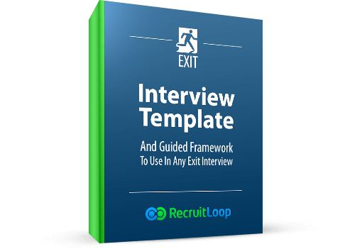 Download: Exit Interview Template And Guided Framework | RecruitLoop