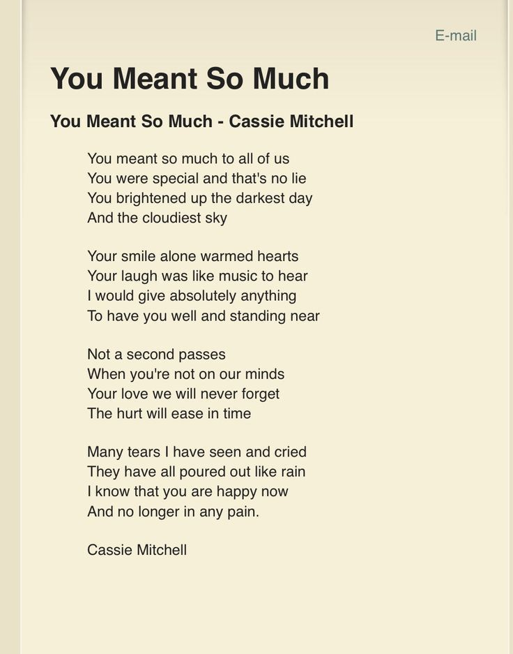Best 25+ Memorial poems ideas only on Pinterest | Memorial quotes ...