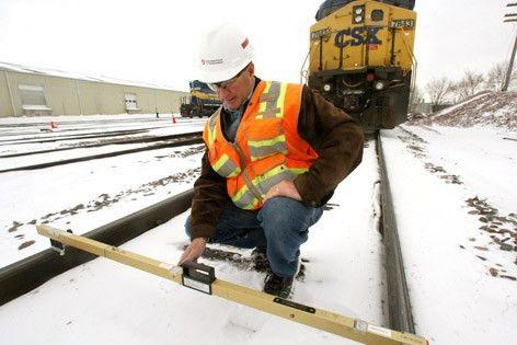 Mason Cityan tracks railroad safety for DOT | Mason City & North ...