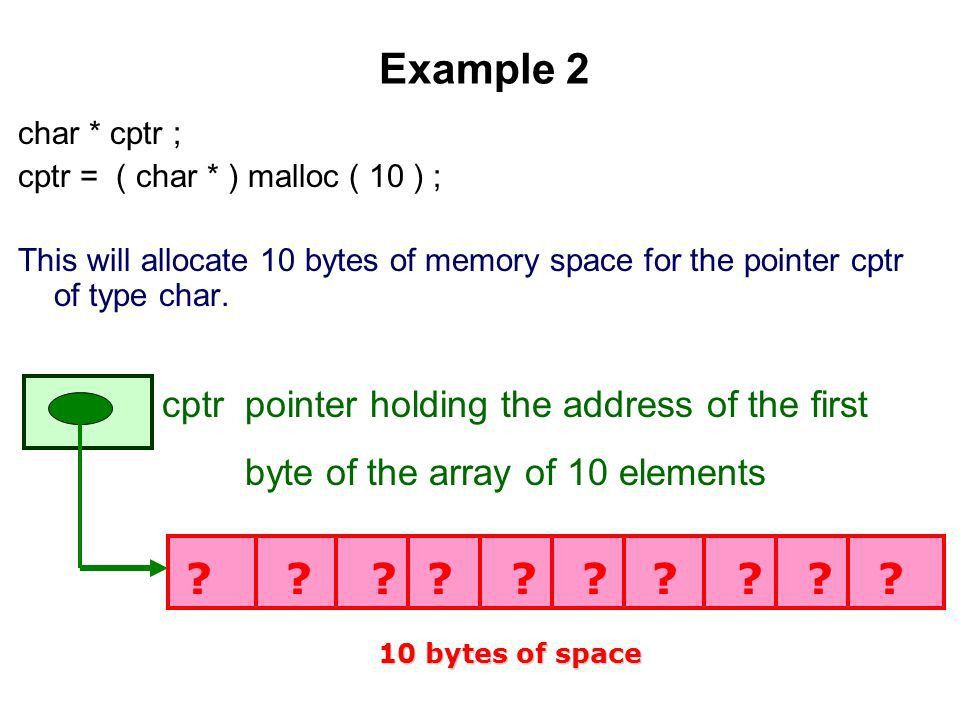 DYNAMIC MEMORY ALLOCATION. Disadvantages of ARRAYS MEMORY ...
