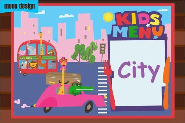 Sample Kids Menu Template - 19+ Download Documents in PSD, PDF