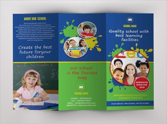 School Brochure - 22+ Download in PSD, Vector, PDF, Illustration