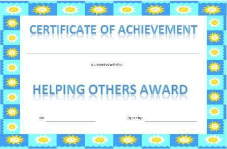 Certificates for Children, Free Printable Kid Awards