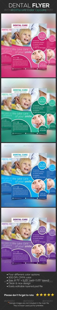 Dental Flyer | Flyers and Dental