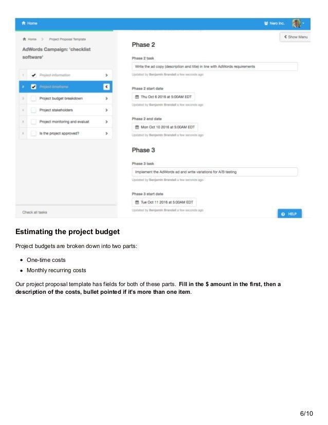 Use this Interactive Project Proposal Template (and Ditch Microsoft W…