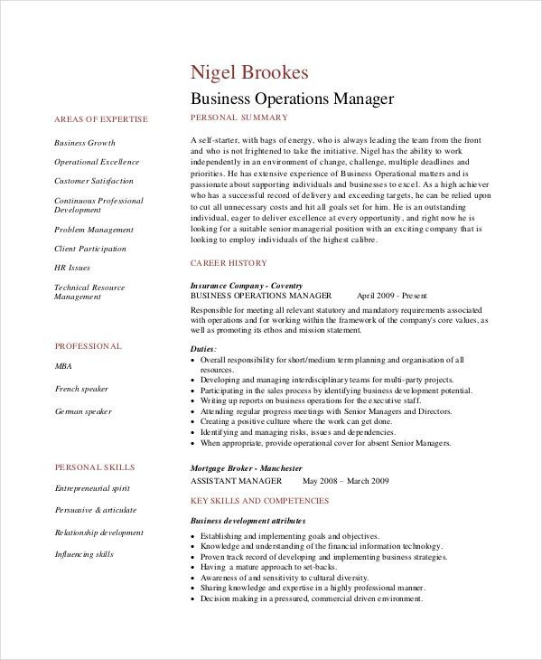 Manager Resume Sample. Sales Manager Resume Sample Sales Manager ...