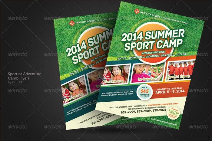 15 + Premium Sport Flyer Template Designs