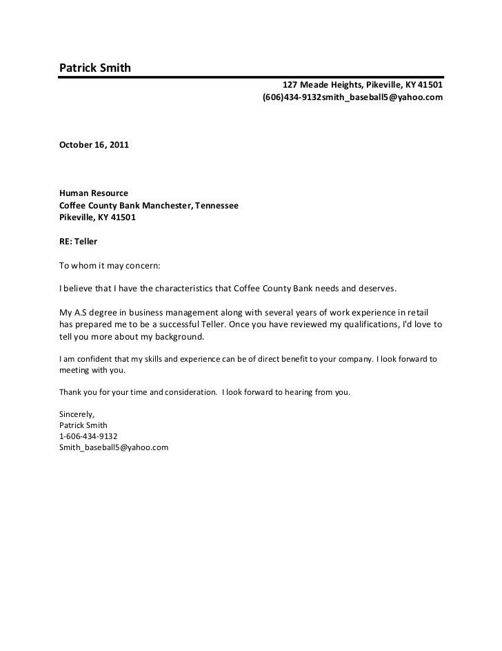Cover letter to whom it may concern or dear Gel Isolante within To ...
