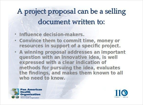 Project Proposal Template - 52+ Free Word, PPT, PDF Documents ...