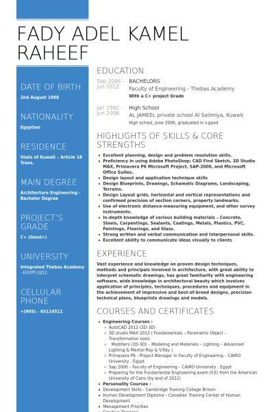 Assistant Project Manager CV Örneği - VisualCV Özgeçmiş Örnekleri ...