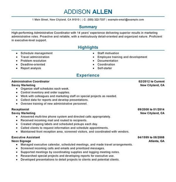 Examples Of The Perfect Resume. Example Perfect Resume Get Started ...