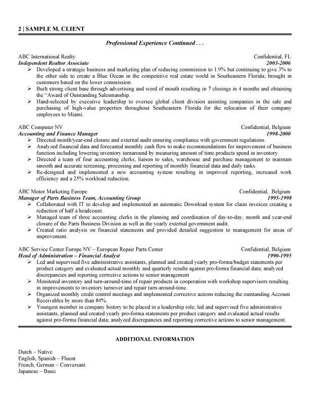 Financial Analyst Cover Letter Samples