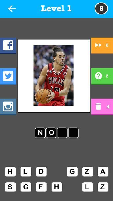 Pro Basketball Player Quiz - Guess the Name Trivia Game on the App ...