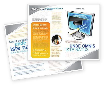 Long Range Education Brochure Template Design and Layout, Download ...