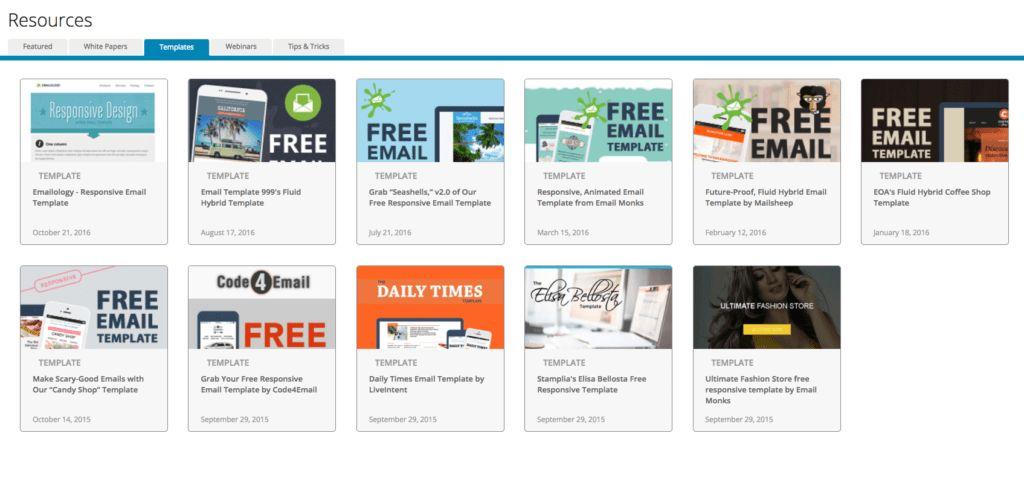 200+ Free Responsive Email Templates | SendinBlue Blog