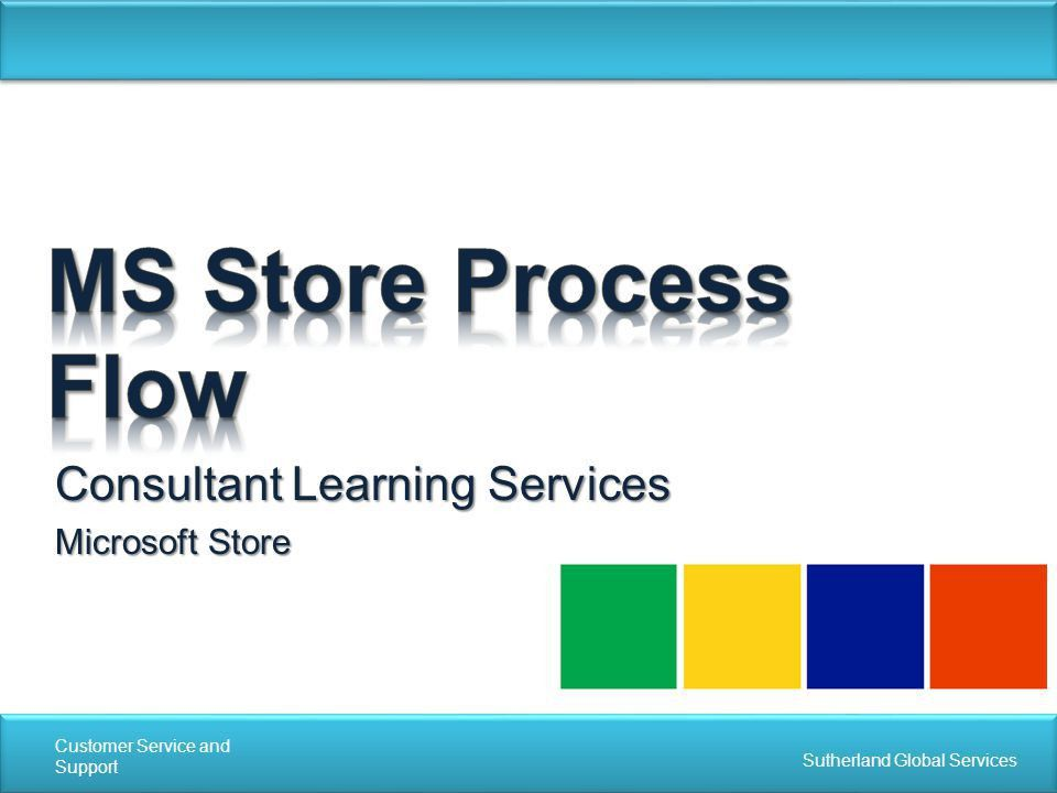 Consultant Learning Services Microsoft Store - ppt download