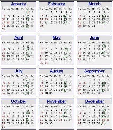 Payroll Calendar 2016 Printable - Gallery Calendar Templates