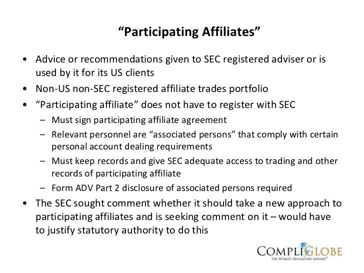 Guide to US Advisers Act (SEC) Registration