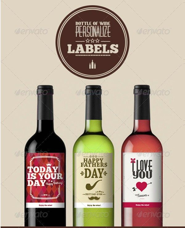80+ Best Creative Designs of Wine Labels & Stickers Gallery for ...