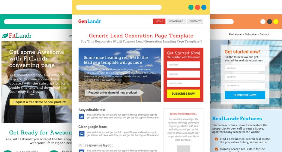 WordPress Landing Page Templates & Themes by WpLanders.com