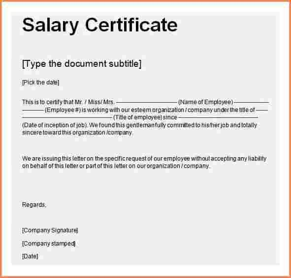 7+ salary receiving letter format | Sales Slip Template