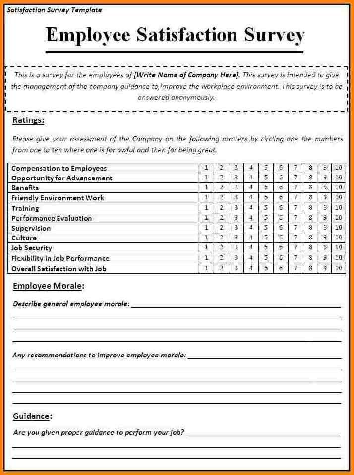 Sample Training Survey. Questionnaire Template 07 30+ ...
